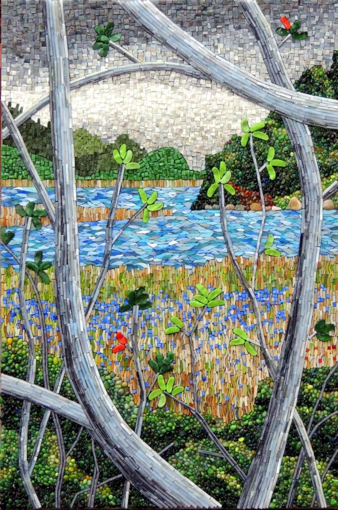 Pond with Irises_sm